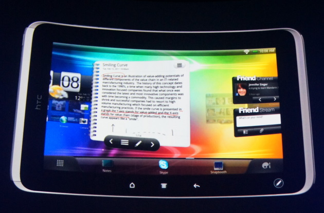 htc tablet. htc-tablet-flayer htc tablet